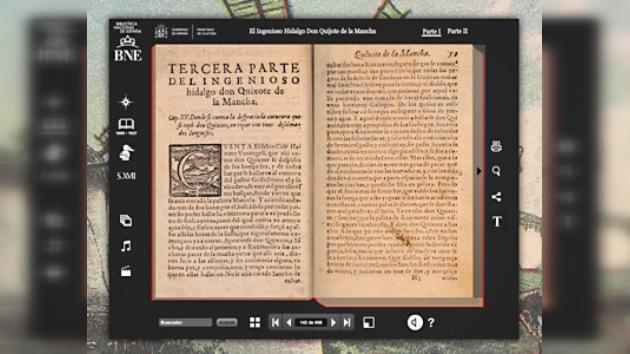 'El Quijote' interactivo permite tocar y sentir la obra de Cervantes