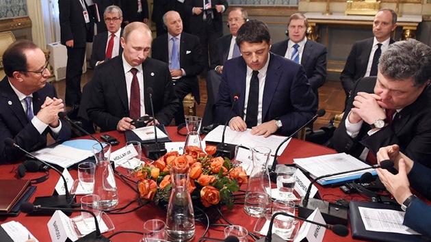 """En la cumbre Asia-Europa acuerdan """"llevar la paz"""" a Ucrania"""