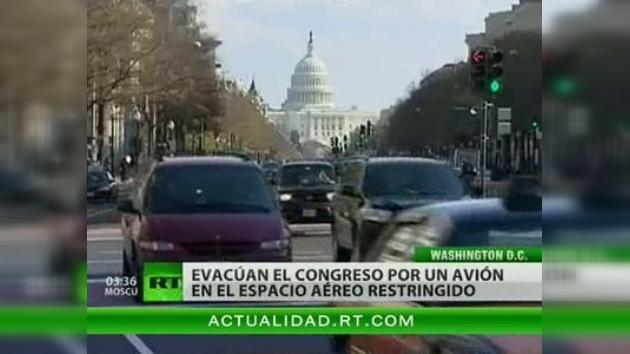 Evacuan el Congreso de EE. UU.