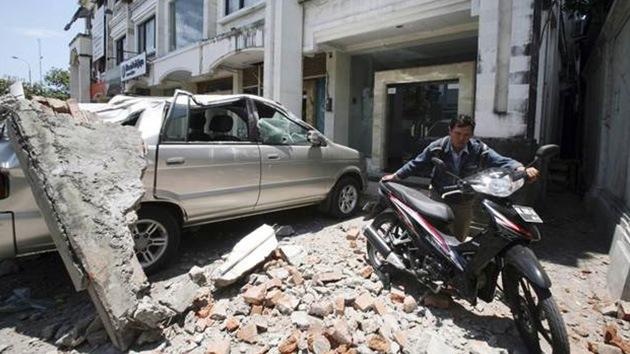 Indonesia: Un terremoto de 5,4 grados deja 24 heridos y causa destrozos en 1.700 edificios