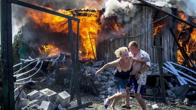 Imágenes impactantes: Rastro de destrucción dejado por los ataques del Ejército ucraniano
