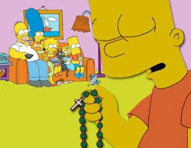 'Los Simpson' son buenos católicos