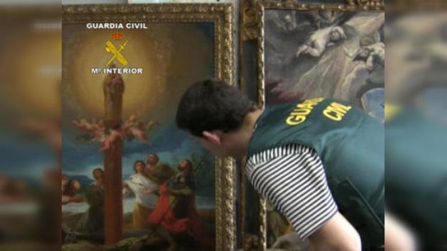 Recuperan un Greco y un Goya robados en 1997