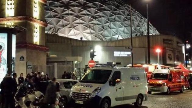 Una explosión en el Palacio de los Deportes de París durante el ensayo de un 'show'