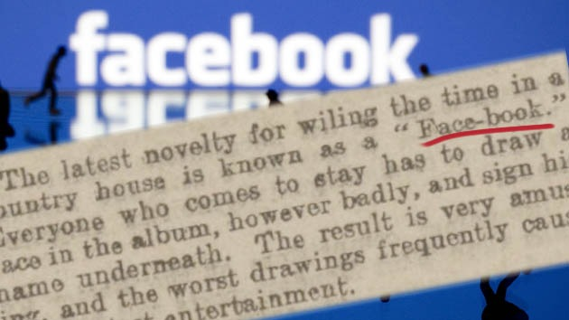 Recorte de antiguo periódico confirma que 'Facebook' existe desde 1902