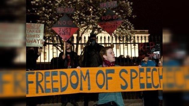 Los EE. UU. del mañana: ¿un país con todos sus manifestantes encarcelados?