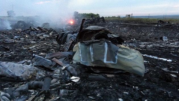 """""""La parte ucraniana era responsable por la seguridad en la zona donde estrelló el avión malasio"""""""