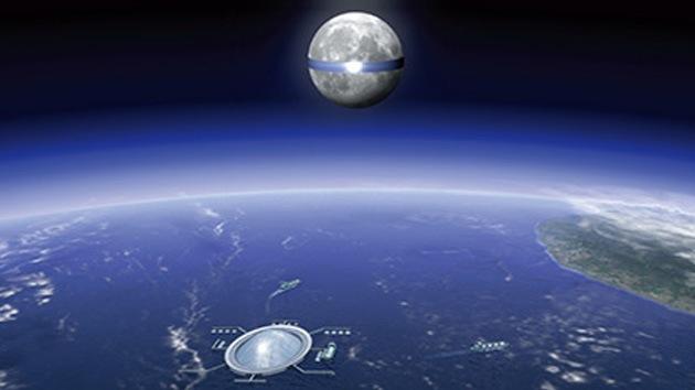 Japón planea construir una planta gigante de energía solar alrededor de la Luna