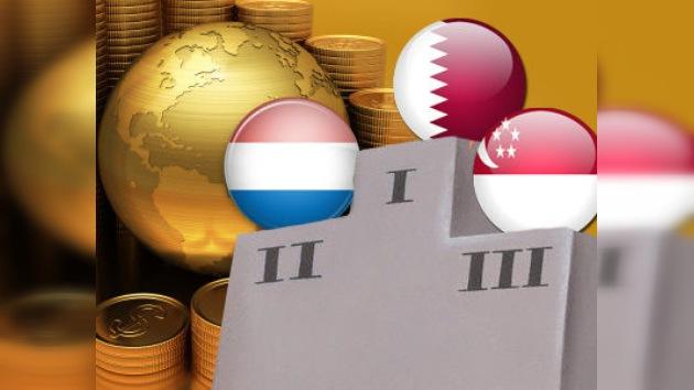Qatar y Luxemburgo, los países más ricos del mundo