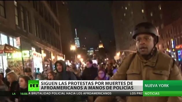 Se suceden las protestas por las muertes de afroamericanos a manos de policías