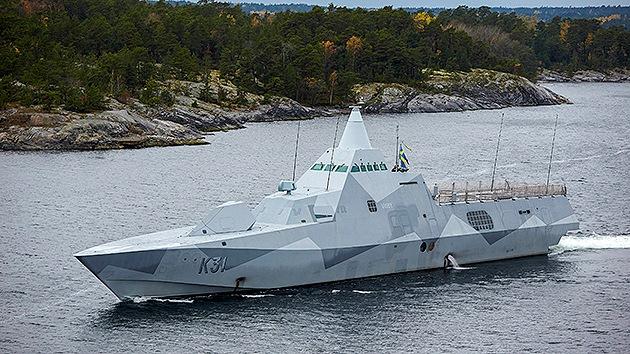 """""""La búsqueda del submarino ruso en Suecia aumenta la tensión en la región"""""""