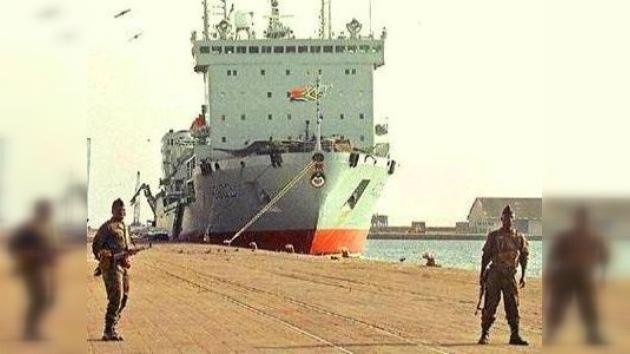 Los marineros arrestados en el Congo regresan a casa