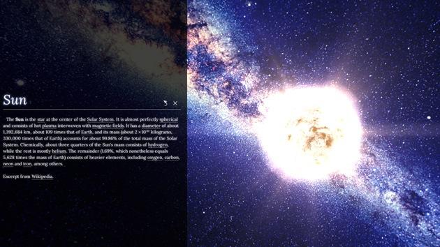 Regalo para soñadores: Google lanza un mapa de la Vía Láctea en 3D