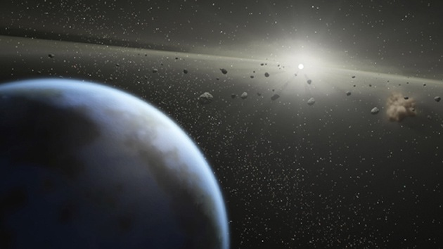 El agua terrestre proviene del cinturón de asteroides