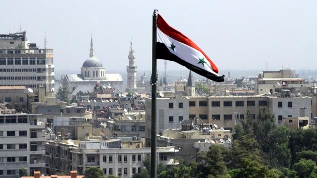 Explosiones junto a la sede presidencial en Damasco