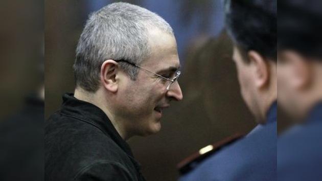 Se espera en enero un fallo sobre la casación de Jodorkovski