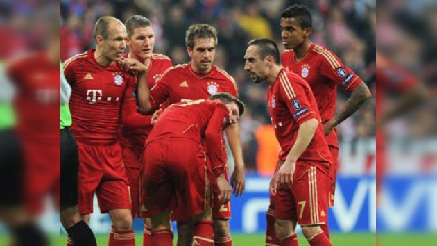 Ribery multado por golpear a Robben durante el partido contra el Real Madrid