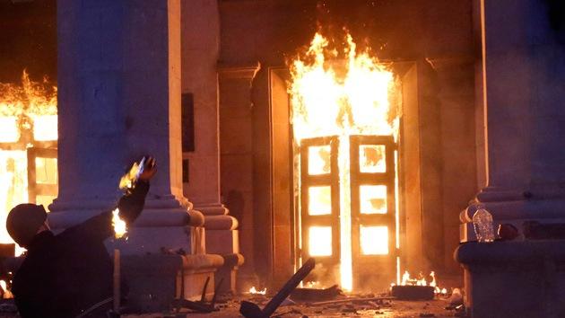Tragedia en Odesa: la última puerta al infierno