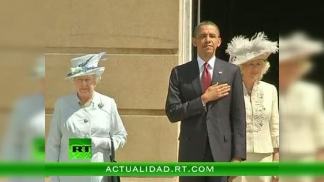 Barack Obama es el tercer presidente de EE. UU. en 100 años hospedado en Buckingham