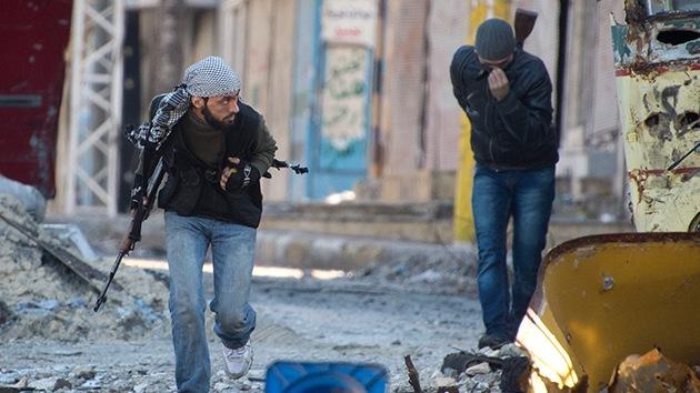 Los rebeldes sirios anuncian que pueden usar armas químicas