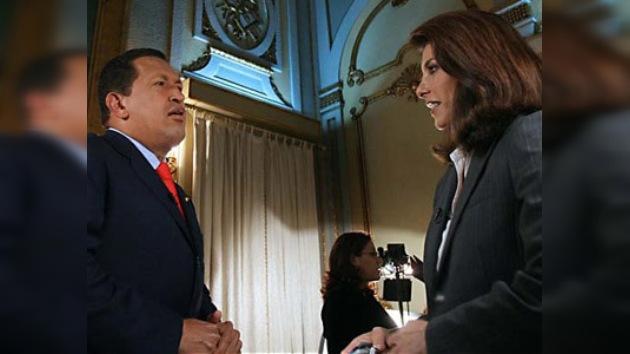Chávez vuelve a criticar la manera de trabajar de CNN