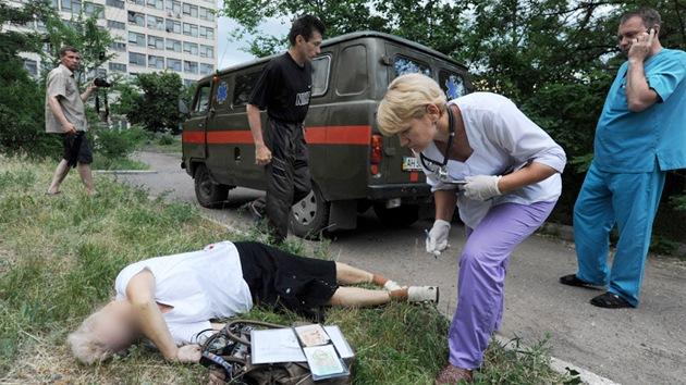 FUERTES IMÁGENES: La cara real de la operación 'no militar' de Kiev