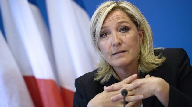 """Marine Le Pen: """"Las sanciones contra Rusia son una estupidez"""""""