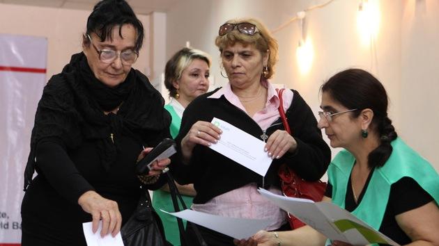 Primeros escrutinios: la oposición se impone en las elecciones de Georgia