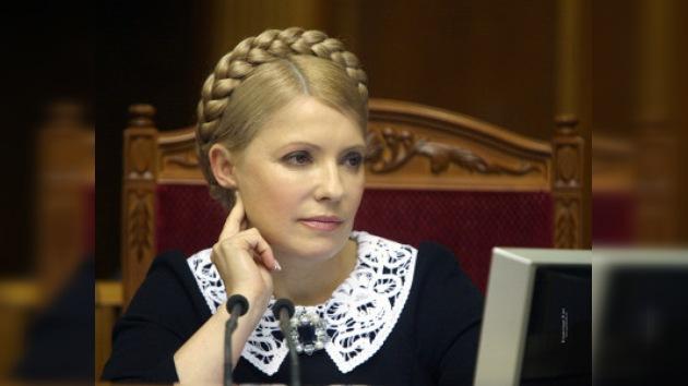 El presidente de Ucrania decidió deshacerse de la primera ministra