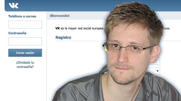El 'Facebook ruso' ofrece a Snowden proteger la correspondencia de los internautas