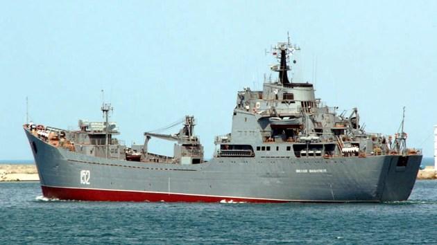 Ejercicios a gran escala: la Infantería de Marina rusa se acerca a las costas de Siria