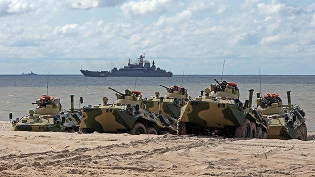 Rusia comienza ejercicios navales a gran escala en el mar Negro
