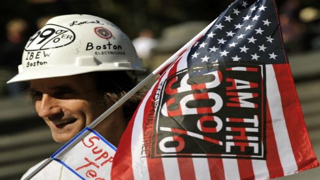 """Los indignados de Ocupa Wall Street usarán """"sus cuerpos como armas"""" contra el 1%"""