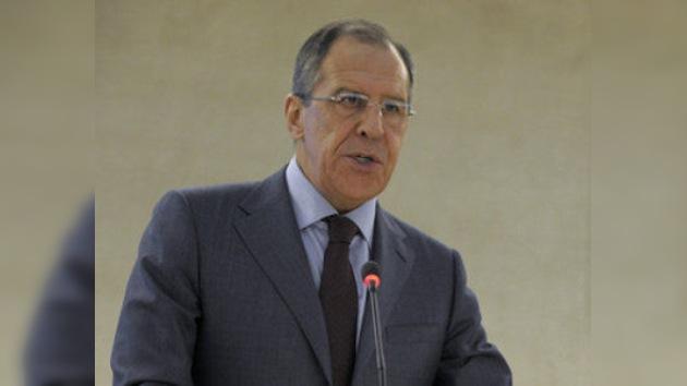 """Lavrov: """"La operación en Libia se transforma en una intervención terrestre"""""""