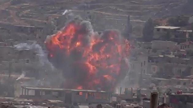 Una explosión sacude la sede de la Media Luna Roja en Damasco