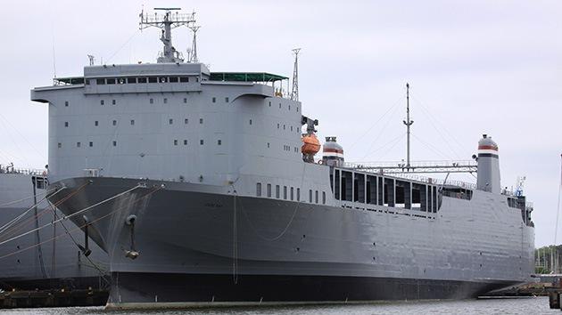 El buque de EE.UU. que destruirá las armas químicas sirias ya está en la base de Rota