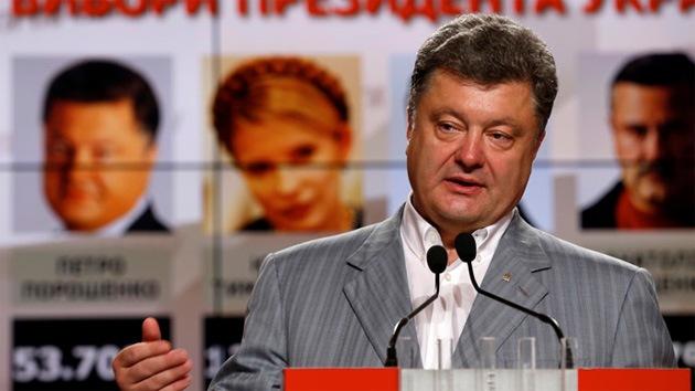 La Ucrania 'antioligarcas' elige como presidente al multimillonario Piotr Poroshenko