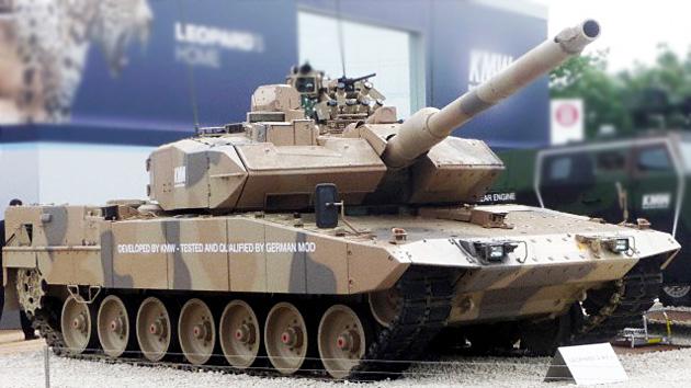 Sauditas 'tientan' a Alemania con la compra de 800 tanke