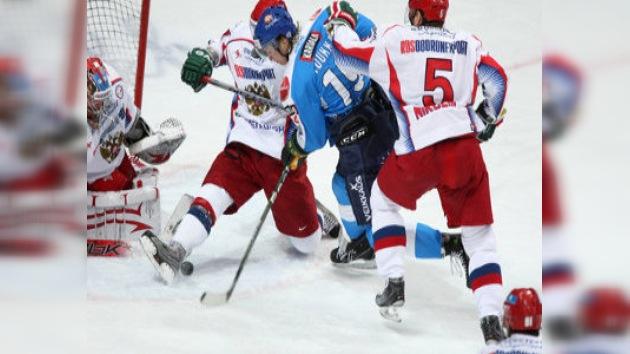 Rusia pierde ante Finlandia en la Copa Cadena Uno