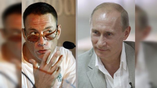 Putin y Van Damme en el Campeonato de Artes Marciales Mixtas