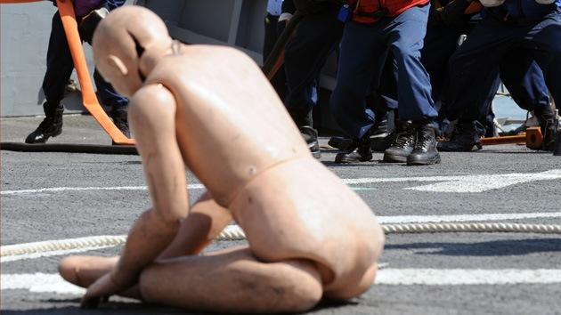 Arrestan en Japón a un marinero estadounidense acusado de nudismo