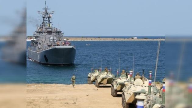 Cinco estados despliegan sus buques para realizar maniobras en el Mar Negro