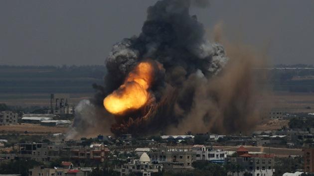 Israel ataca 150 objetivos en la Franja de Gaza