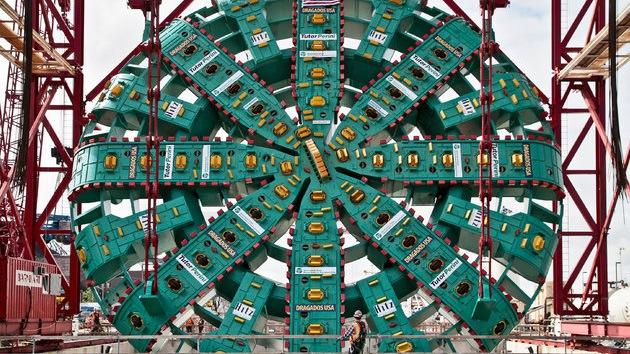 Un objeto enigmático subterráneo ha bloqueado a la taladradora gigante Bertha