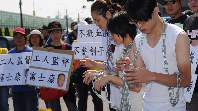 Estudiantes chinos, forzados a trabajar en la producción del iPhone 5