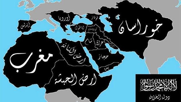 Mapa: El EIIL revela qué zonas del planeta quiere conquistar en un plazo de 5 años