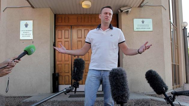 Un líder de la oposición rusa podría ser condenado a 10 años de cárcel