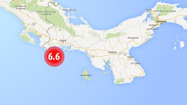Un terremoto de magnitud 6,6 sacude Panamá