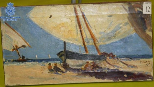Capturan en España a una red que falsificaba obras de Picasso y Goya