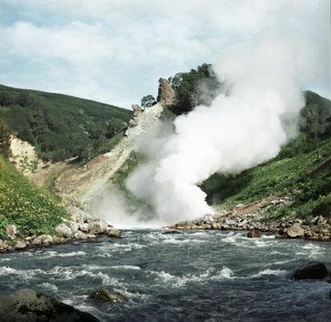 Los famosos volcanes rusos